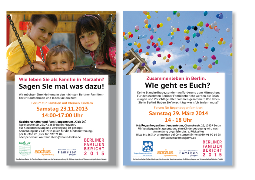 Familienforum Plakate